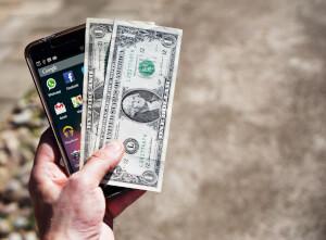 Geld storten met iDEAL